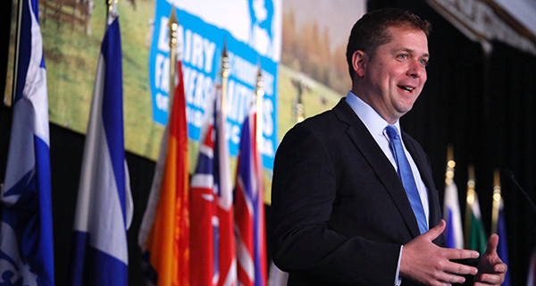 Scheer shows his mettle by confronting Trudeau