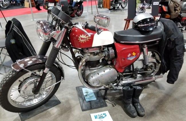 1968 BSA Spitfire motorcycle