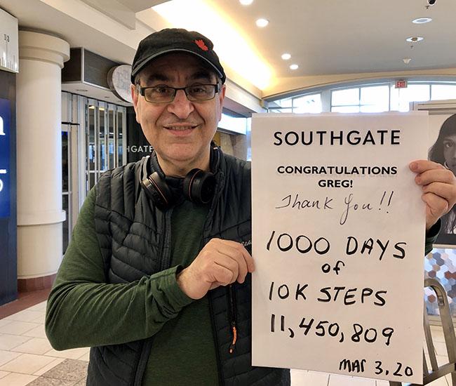 10 000 10k steps southgate
