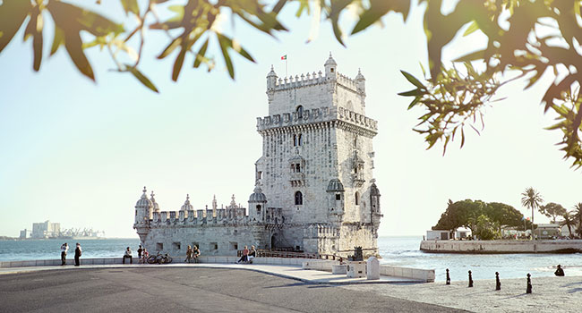 The Tower in the Belem District of Lisbon