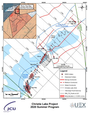 Christie Lake Summer Drilling Results