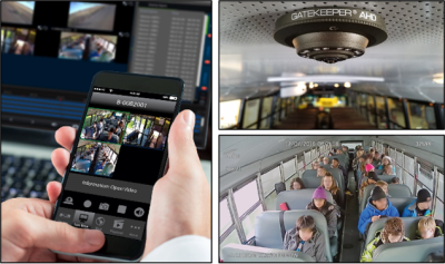 Gatekeeper Equips School Bus Fleet in California With Wireless Video Data, Incident Management Software